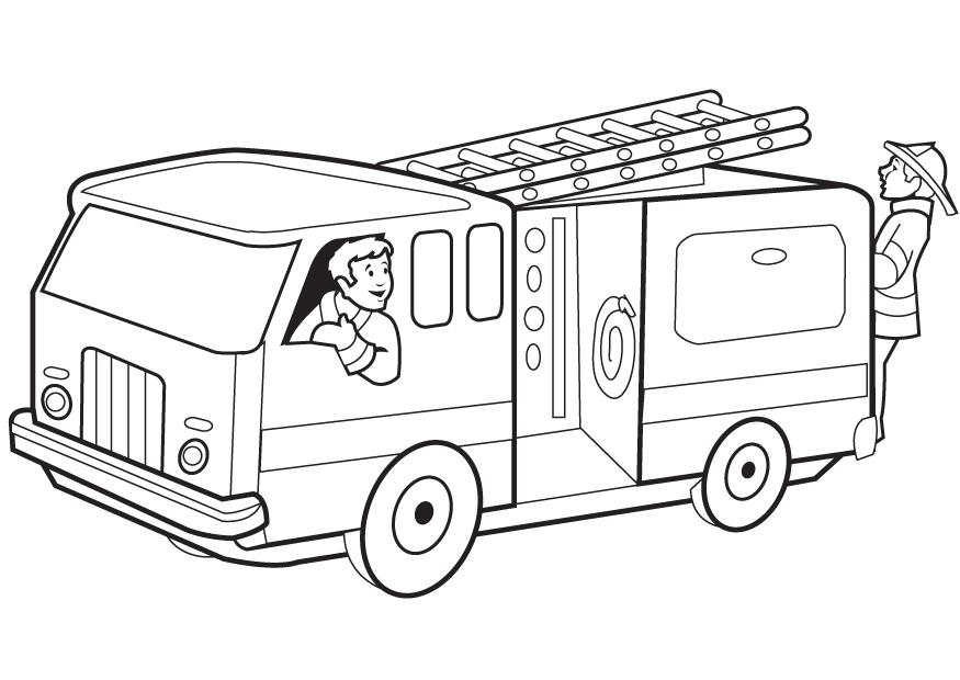 Fire Truck Coloring Page Muncie Children S Museum Truck Coloring Pages 6