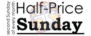 half-price sunday logo